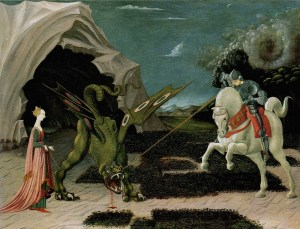 St. George vs. Dragon